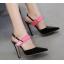 รองเท้าส้นสูง ไซต์ 35-40 สีดำ/แดง/ทอง/ครีม thumbnail 6
