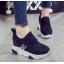 รองเท้าผ้าใบเสริมส้น ไซต์ 35-39 สีขาว/ดำ thumbnail 3