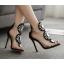รองเท้าส้นสูงสีดำ ไซต์ 35-40 thumbnail 1