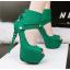 รองเท้าส้นสูง ไซต์ 34-39 สีดำ/แดง/เทา/เขียว thumbnail 8