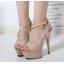 รองเท้าส้นสูง ไซต์ 35-40 สีดำ/ขาว/ครีม thumbnail 7