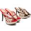 รองเท้าส้นสูงแบบสวมสีแดง/ดำ ไซต์ 34-39 thumbnail 6