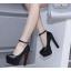 รองเท้าส้นสูงสีนู๊ด/ดำ ไซต์ 35-39 thumbnail 5