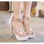 รองเท้าส้นสูง ไซต์ 35-40 สีดำ/ขาว thumbnail 2