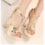 รองเท้าส้นสูง ไซต์ 34-39 สีเงิน สีทอง สีขาว thumbnail 12