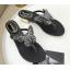 รองเท้าคีบติดผีเสื้อสีดำ/เงิน ไซต์ 35-39 thumbnail 7