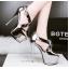 รองเท้าส้นสูง ไซต์ 34-39 สีดำ/เงิน/ทอง/เทา thumbnail 6