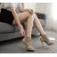 รองเท้าส้นสูงสีแอพพริคอท/ดำ ไซต์ 35-40 thumbnail 5