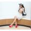รองเท้าส้นสูงสีขาว/ดำ/แดง ไซต์ 34-39 thumbnail 6