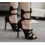 รองเท้าส้นสูงดีไซน์โบว์เล็กๆติดสายสีดำ ไซต์ 35-40 thumbnail 2