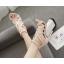 รองเท้าส้นสูงสายไขว้สีชมพู/ดำ ไซต์ 35-40 thumbnail 3