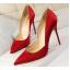 รองเท้าส้นสูงปลายแหลมทรงสวยสีดำ/แดง/เขียว/ชมพูนู๊ด ไซต์ 34-39 thumbnail 2