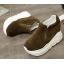 รองเท้าผ้าใบเสริมส้นสีน้ำตาล/ดำ/เขียว ไซต์ 35-39 thumbnail 10