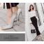 รองเท้าส้นสูงปลายแหลมสีเงิน/ดำ ไซต์ 35-40 thumbnail 5