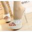 รองเท้าส้นสูงไซต์ 35-39 สีเงิน สีทอง thumbnail 2