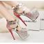 รองเท้าส้นสูง ไซต์ 34-39 สีแดง/ฟ้า/ม่วง thumbnail 2