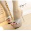 รองเท้าส้นสูงไซต์ 35-39 สีเงิน สีทอง thumbnail 6