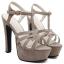 รองเท้าส้นสูง ไซต์ 35-39 สีดำ/น้ำตาล thumbnail 7