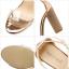 รองเท้าส้นสูง สีทอง/ดำ ไซต์ 35-40 thumbnail 11