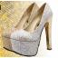 รองเท้าส้นสูง ไซต์ 34-39 สีทอง,เงิน thumbnail 1