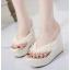รองเท้าส้นเตารีด ไซต์ 35-39 สีดำ/ขาว/ชมพู thumbnail 6