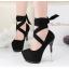รองเท้าส้นสูง ไซต์ 34-39 สีดำ/เทา/ม่วง/เขียวขี้ม้า thumbnail 11