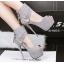 รองเท้าส้นสูง ไซต์ 34-39 สีดำ/แดง/เทา/เขียว thumbnail 2