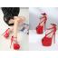 รองเท้าส้นสูงส้นเข็มสีแดง/ดำ ไซต์ 34-40 thumbnail 6