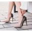 รองเท้าส้นสูงปลายแหลมสีทอง/ชมพูนู๊ด ไซต์ 35-40 thumbnail 4
