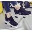 รองเท้าผ้าใบเสริมส้น ไซต์ 35-39 สีขาว/ดำ thumbnail 7