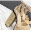รองเท้าส้นสูง ไซต์ 34-39 สีทอง/เงิน thumbnail 8
