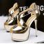 รองเท้าส้นสูง ไซต์ 34-39 สีดำ/เงิน/ทอง/เทา thumbnail 11