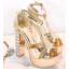 รองเท้าส้นสูง ไซต์ 34-39 สีเงิน สีทอง สีขาว thumbnail 10