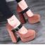รองเท้าส้นสูง ไซต์ 34-39 สีดำ สีน้ำตาล thumbnail 4