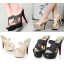 รองเท้าส้นสูงแบบสวยสีครีม/ดำ ไซต์ 34-39 รุ่นนี้แนะนำ +1 จากไซต์ที่ใส่ปกติ thumbnail 1