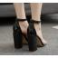 รองเท้าส้นสูง สีทอง/ดำ ไซต์ 35-40 thumbnail 4