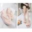 รองเท้าส้นเตารีด ไซต์ 35-39 สีดำ/ขาว/ชมพู thumbnail 3