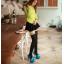 รองเท้าส้นสูงคัดชูแต่งโบว์ผ้าสีแดง/ดำ/ฟ้า/ชมพู ไซต์ 34-43 thumbnail 8