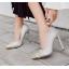 รองเท้าส้นสูงปลายแหลมสีเงิน/ดำ ไซต์ 35-40 thumbnail 4