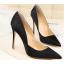 รองเท้าส้นสูงปลายแหลมทรงสวยสีดำ/แดง/เขียว/ชมพูนู๊ด ไซต์ 34-39 thumbnail 8