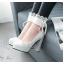 รองเท้าส้นสูงคัดชูสีชมพู/ดำ/ขาว ไซต์ 34-43 thumbnail 4