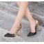 รองเท้าส้นสูงปลายแหลมสีทอง/ชมพูนู๊ด ไซต์ 35-40 thumbnail 3
