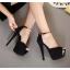 รองเท้าส้นสูง ไซต์ 34-39 สีดำ สีชมพู thumbnail 2
