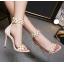 รองเท้าส้นสูงสีครีม ไซต์ 35-40 thumbnail 6