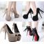 รองเท้าส้นสูง ไซต์ 34-38 สีดำ/น้ำตาล thumbnail 1