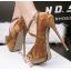 รองเท้าส้นสูง ไซต์ 34-39 สีดำ/แดง/เทา/น้ำตาล thumbnail 5
