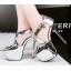 รองเท้าส้นสูง ไซต์ 34-39 สีดำ/เงิน/ทอง/เทา thumbnail 3