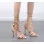 รองเท้าส้นสูง ไซต์ 34-40 สีดำ/ครีม thumbnail 7