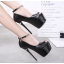 รองเท้าส้นสูง ไซต์ 34-38 สีดำ/ขาว thumbnail 2