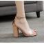 รองเท้าส้นสูง สีทอง/ดำ ไซต์ 35-40 thumbnail 6